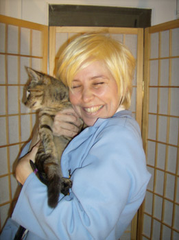Tamaki (and friend) cosplay wig