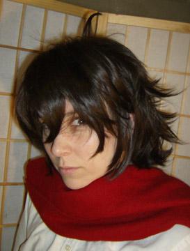 Setsuna cosplay wig