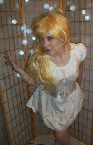 Panty cosplay wig