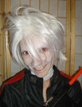 Heine cosplay wig