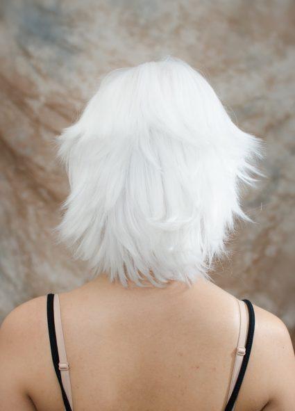 Suzuya cosplay wig back