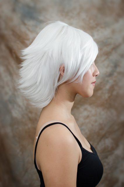 Suzuya cosplay wig side