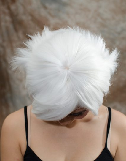 Suzuya cosplay wig top