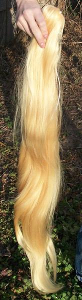 Applejack ponytail