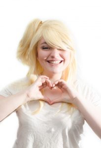 Lucy Heartfilia cosplay wig