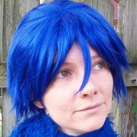 Kaito cosplay wig