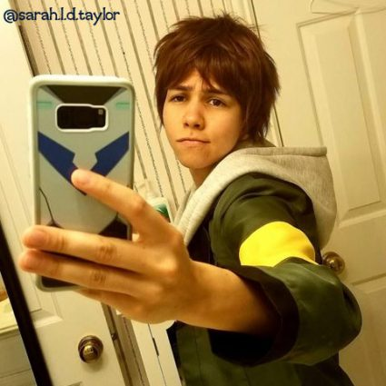 Lance cosplay by @sarah.l.d.taylor