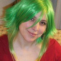 Gumi cosplay wig