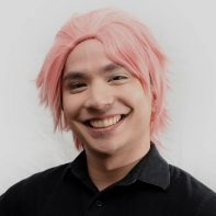 Natsu cosplay wig