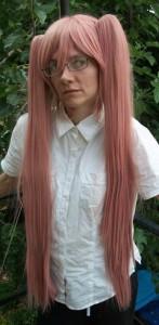 Saya cosplay wig