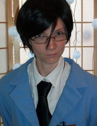 Kyouya cosplay wig
