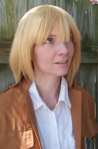 Armin cosplay wig