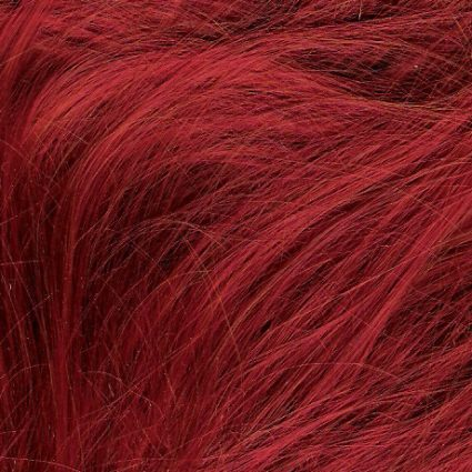 Bright red color swatch