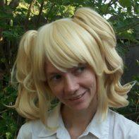 Blonde lolita cosplay wig