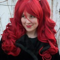 Gothic Lolipocalypse Bloody Mary red gothic lolita wig