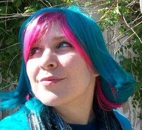 Trickster Roxy cosplay wig