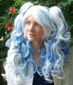 Gothic Lolipocalypse Blueberry Creme - lolita cosplay wig