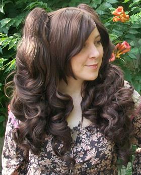 Gothic Lolipocalypse Cafe Frangelico - brown lolita wig