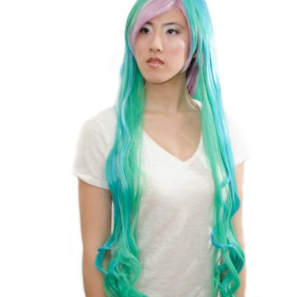Princess Celestia cosplay wig