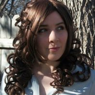 Steampunk cosplay wig