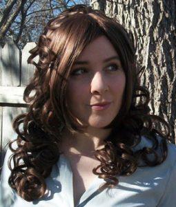Steampunk cosplay wig
