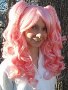 Gothic Lolipocalypse Cosmo Edition - pink lolita wig
