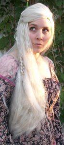 Daenerys cosplay wig