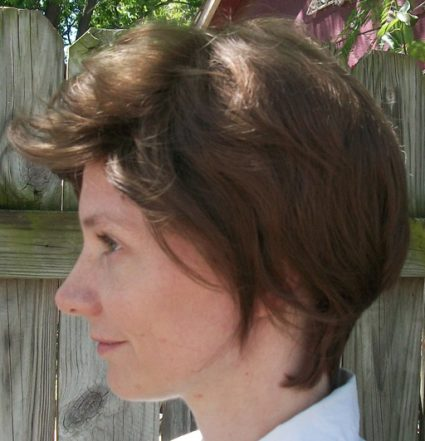 10th Doctor wig side view
