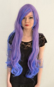 Princess Luna cosplay wig