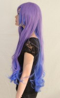 Princess Luna cosplay wig side view