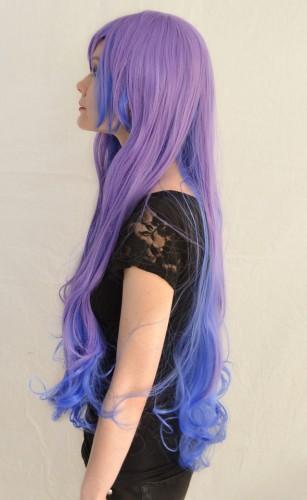 Princess Luna cosplay wig side view