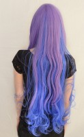 Princess Luna cosplay wig back view