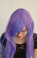 Princess Luna cosplay wig top view