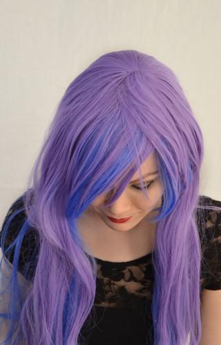 Princess Luna cosplay wig top view