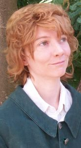 Blonde hobbit cosplay wig