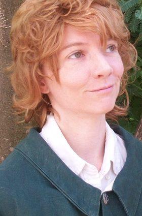 Blonde hobbit cosplay wig