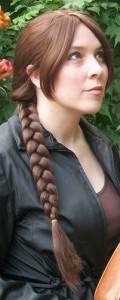 Katniss cosplay wig