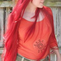Kushina cosplay wig