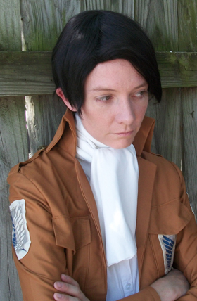 Spinning Ravioli Tidy Scout Levi Cosplay Wig The Five Wits