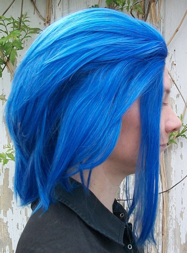 Levy Mcgarden cosplay wig side view