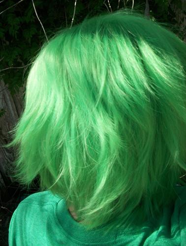 Mashiro wig back view