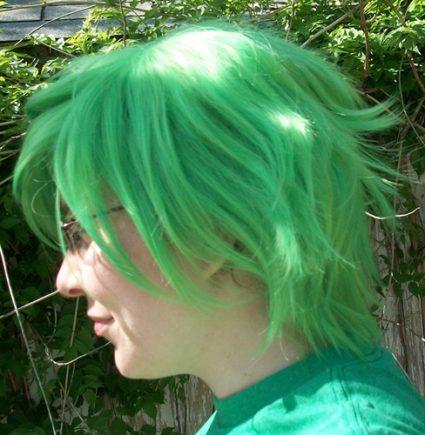 Mashiro wig side view