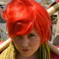 Trickster Dirk cosplay wig