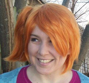 Misty cosplay wig
