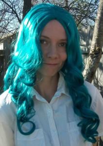 Sailor Neptune cosplay wig