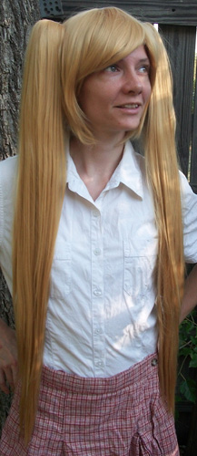 Neru cosplay wig