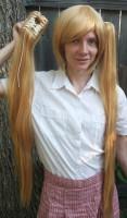 Neru cosplay wig clip