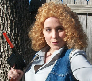 Doctor Sweetie Spoiler Song River Song Cosplay Wig The