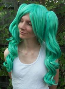 Seafoam lolita cosplay wig