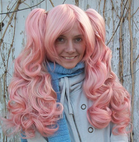 Gothic Lolipocalypse Strawberry Daiquri lolita wig